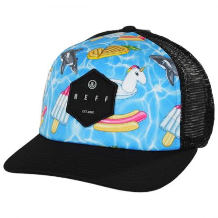 Neff Hot Tub Trucker Snapback Baseball Cap