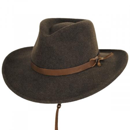 Morgan Crushable Wool LiteFelt Western Hat