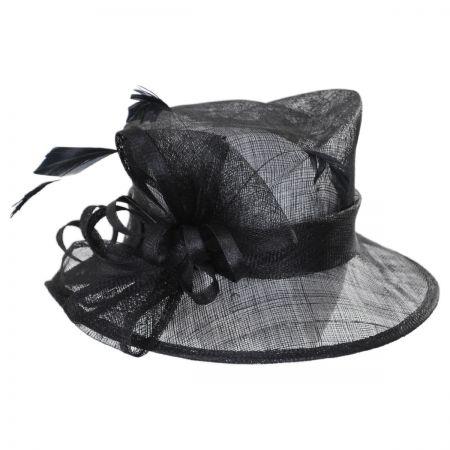 Delta Sinamay Straw Downbrim Hat alternate view 1