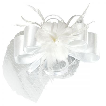 White Fascinator at Village Hat Shop 58b860c90dd