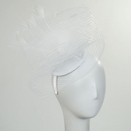 Crimped Mesh Fascinator Headband alternate view 4