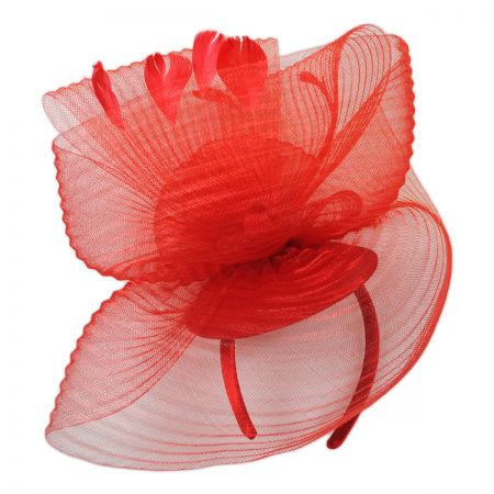 Crimped Mesh Fascinator Headband alternate view 1