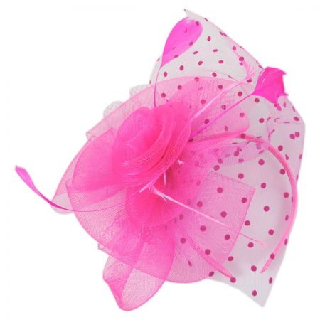 Something Special Swiss Dot Mesh Fascinator Headband