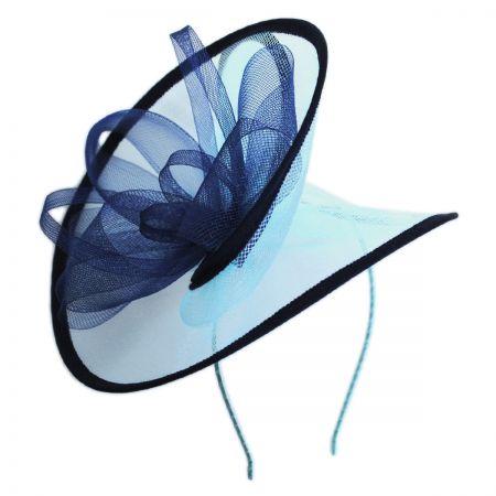 Something Special Two-Tone Swirl Mesh Fascinator Headband