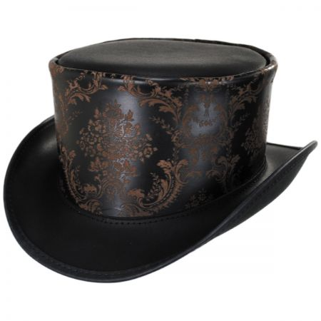 Head 'N Home Parlor Leather Top Hat