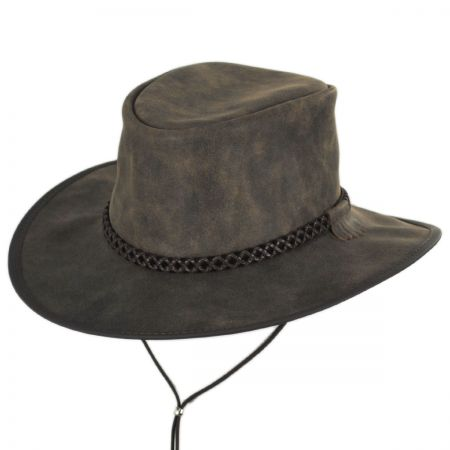 Crusher Leather Outback Western Hat alternate view 9