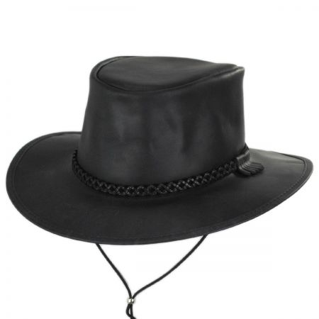 Crusher Leather Outback Western Hat alternate view 27