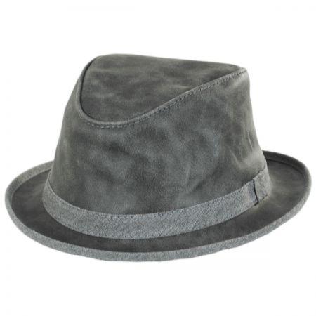 Soho Crushable Suede Trilby Fedora Hat