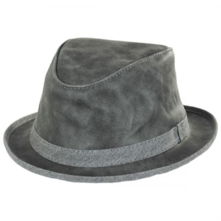Soho Crushable Suede Trilby Fedora Hat alternate view 13
