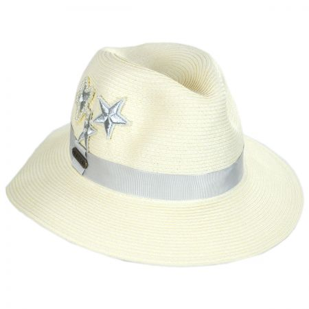 428ee2166 Silver Star Toyo Straw Fedora Hat