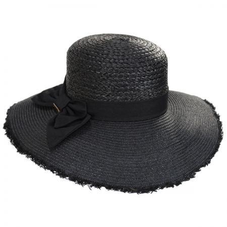 Black Hats at Village Hat Shop 784d3f3ec