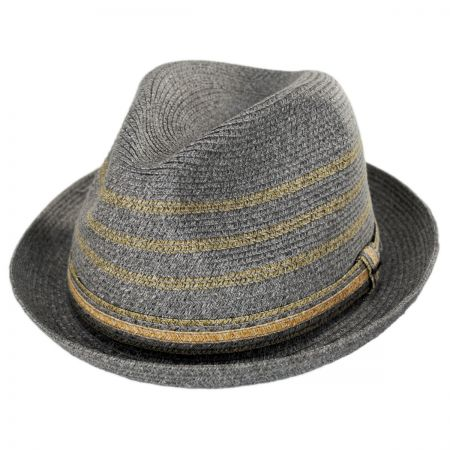 69fae8c5618 Straw Trilby at Village Hat Shop