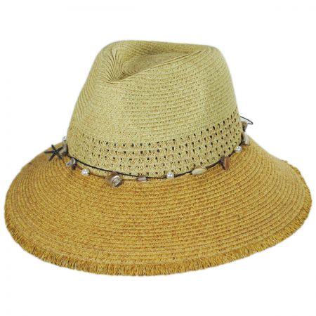 Playa Toyo Straw Fedora Hat alternate view 5