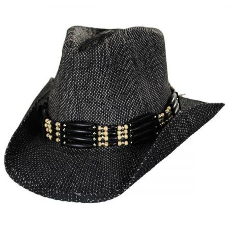 Scala Ram Toyo Straw Western Hat