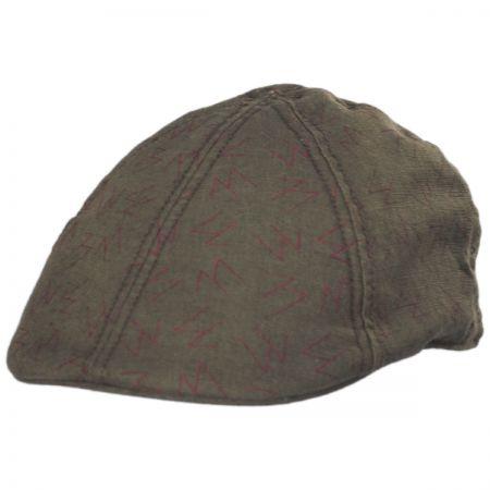Goorin Bros High Warrior Linen and Cotton Duckbill Ivy Cap