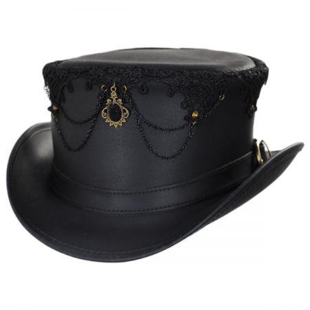Head 'N Home Oracle Leather Top Hat