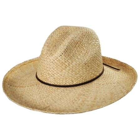 Jenna Raffia Straw Western Hat alternate view 1