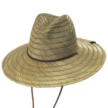 Brixton Hats Bells Straw Lifeguard Hat
