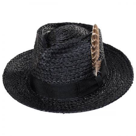 Crosby Raffia Straw Fedora Hat alternate view 34