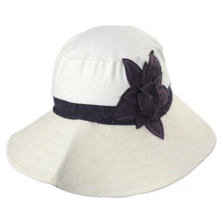 Livvy Cotton Sun Hat a91df6047ae