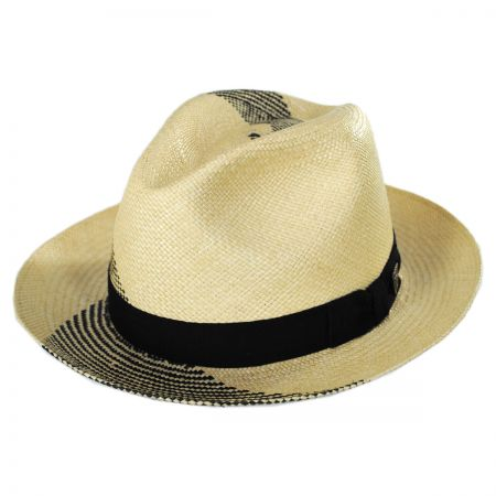 Tourbilon Panama Straw Fedora Hat alternate view 1