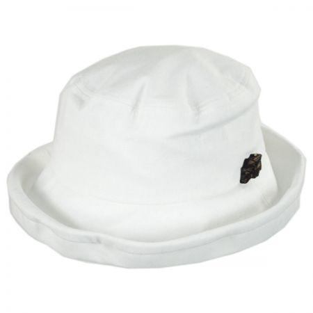 sur la tete Arbres Linen and Cotton Bucket Hat
