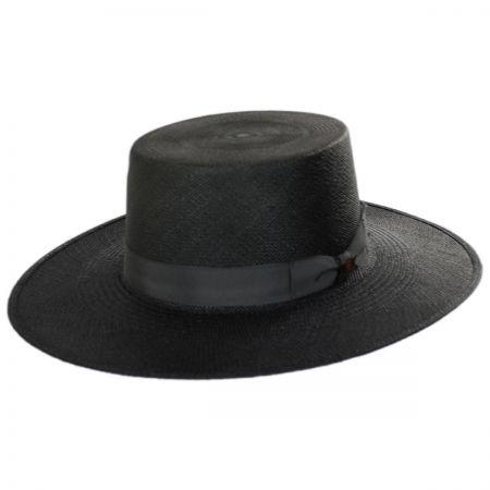 Bilbao Grade 8 Panama Straw Bolero Hat alternate view 1