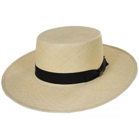 Bilbao Grade 8 Panama Straw Bolero Hat alternate view 13