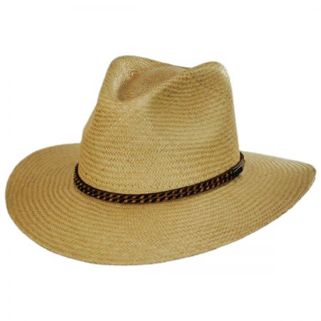 Brookdale Panama Straw Aussie Hat alternate view 1