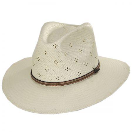 Biltmore Riverfront Toyo Straw Aussie Hat