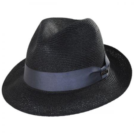 Baron Hemp Straw Trilby Fedora Hat alternate view 5