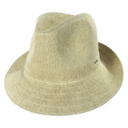 Gent Bamboo Fedora Hat