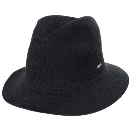 Black Crushable Fedora at Village Hat Shop 73c822707cb2