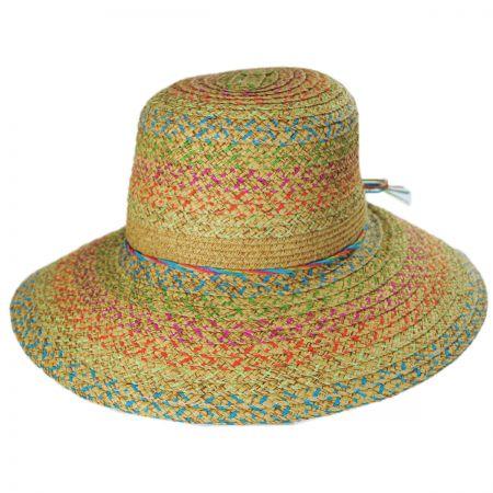 Jeanne Simmons Prismatic Toyo Straw Sun Hat