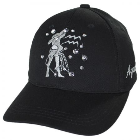 Aquarius Jewel Adjustable Baseball Cap