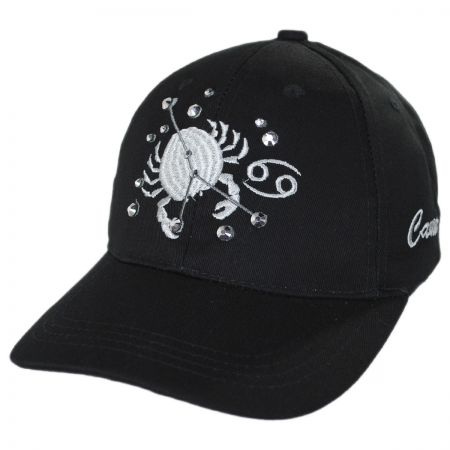 Cancer Jewel Adjustable Baseball Cap