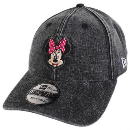 New Era Disney Minnie Mouse Rugged 9Twenty Strapback Baseball Cap Dad Hat