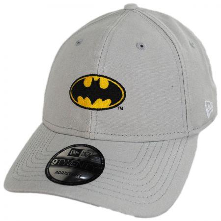 DC Comics Batman Rugged 9Twenty Strapback Baseball Cap Dad Hat