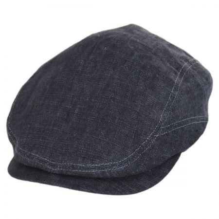 Denim Flat Cap at Village Hat Shop fac18869b4a