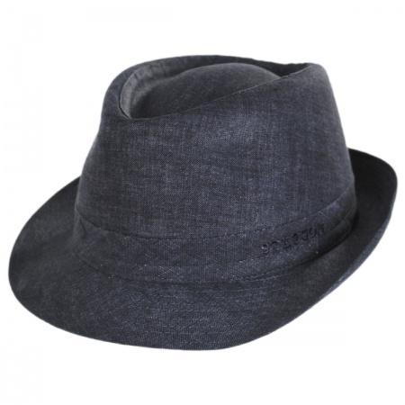 Linen Delave Trilby Fedora Hat alternate view 32