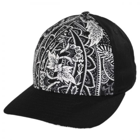 Floral Snapback Baseball Cap alternate view 1
