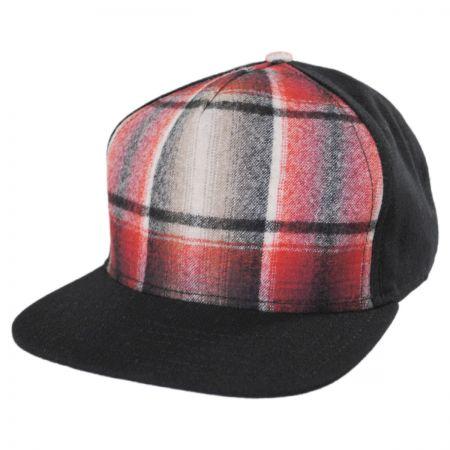 Flipside Plaid Snapback Baseball Cap
