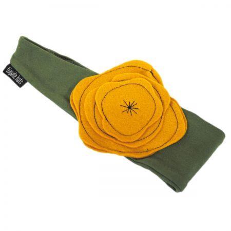 Flipside Kids' Olive Cotton Headband