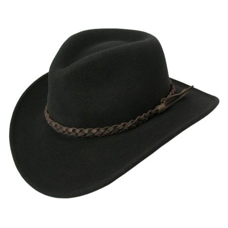 Switchback Crushable Wool LiteFelt Aussie Hat alternate view 9