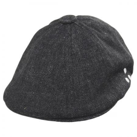 Kangol Hawker Cotton Denim Stitch Newsboy Cap