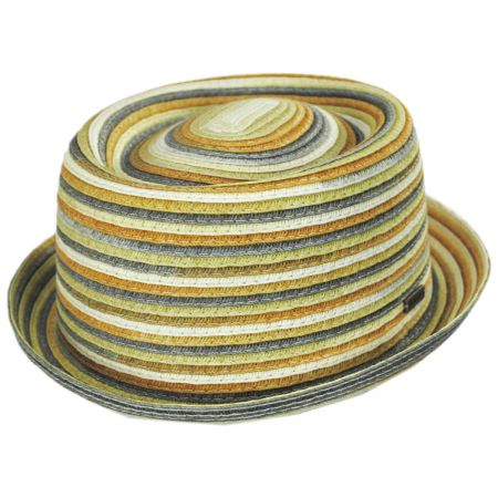 Spacedyed Toyo Straw Braid Pork Pie Hat alternate view 5