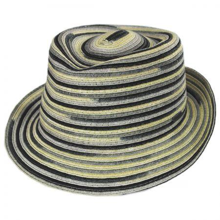 Spacedyed Braid Trilby Fedora Hat alternate view 1