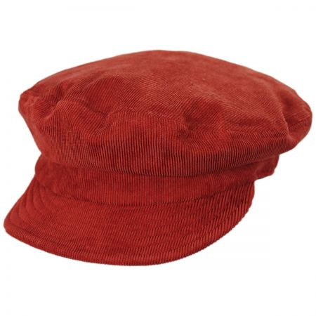 Relaxed Corduroy Packable Fiddler Cap alternate view 1