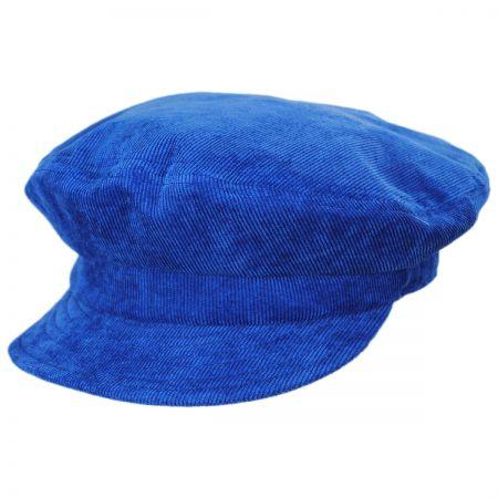 Brixton Hats Relaxed Corduroy Packable Fiddler Cap