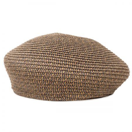 Brixton Hats Audrey Toyo Straw Beret